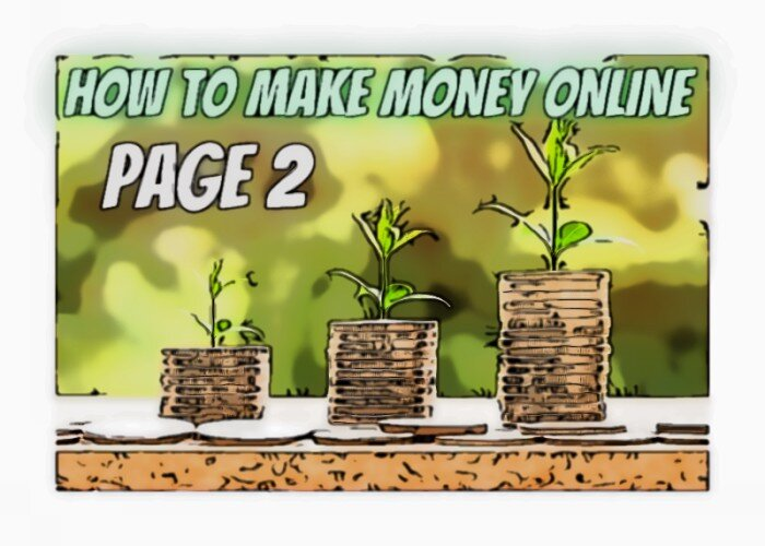 How to Make Money Online Page 2
