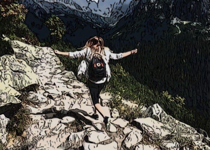 Hiking as a hobby