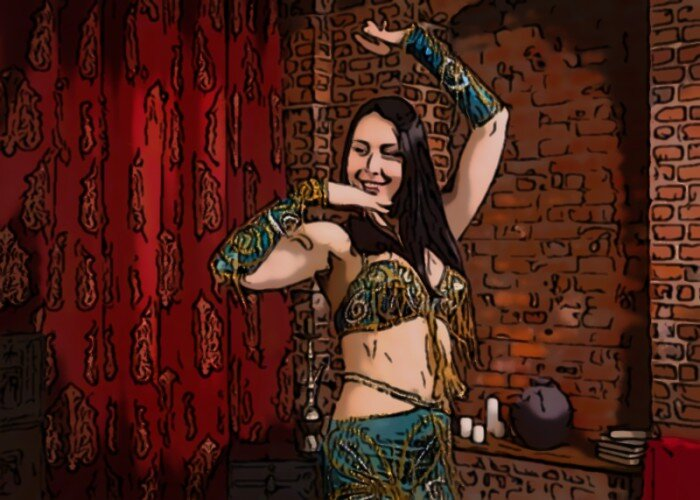 How Belly Dancing Affects Muscle Toning.