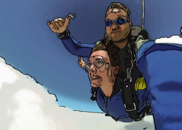Skydiving as a hobby