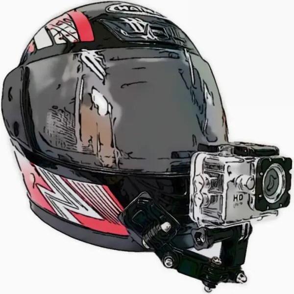 Helmet Chin Mount Bracket