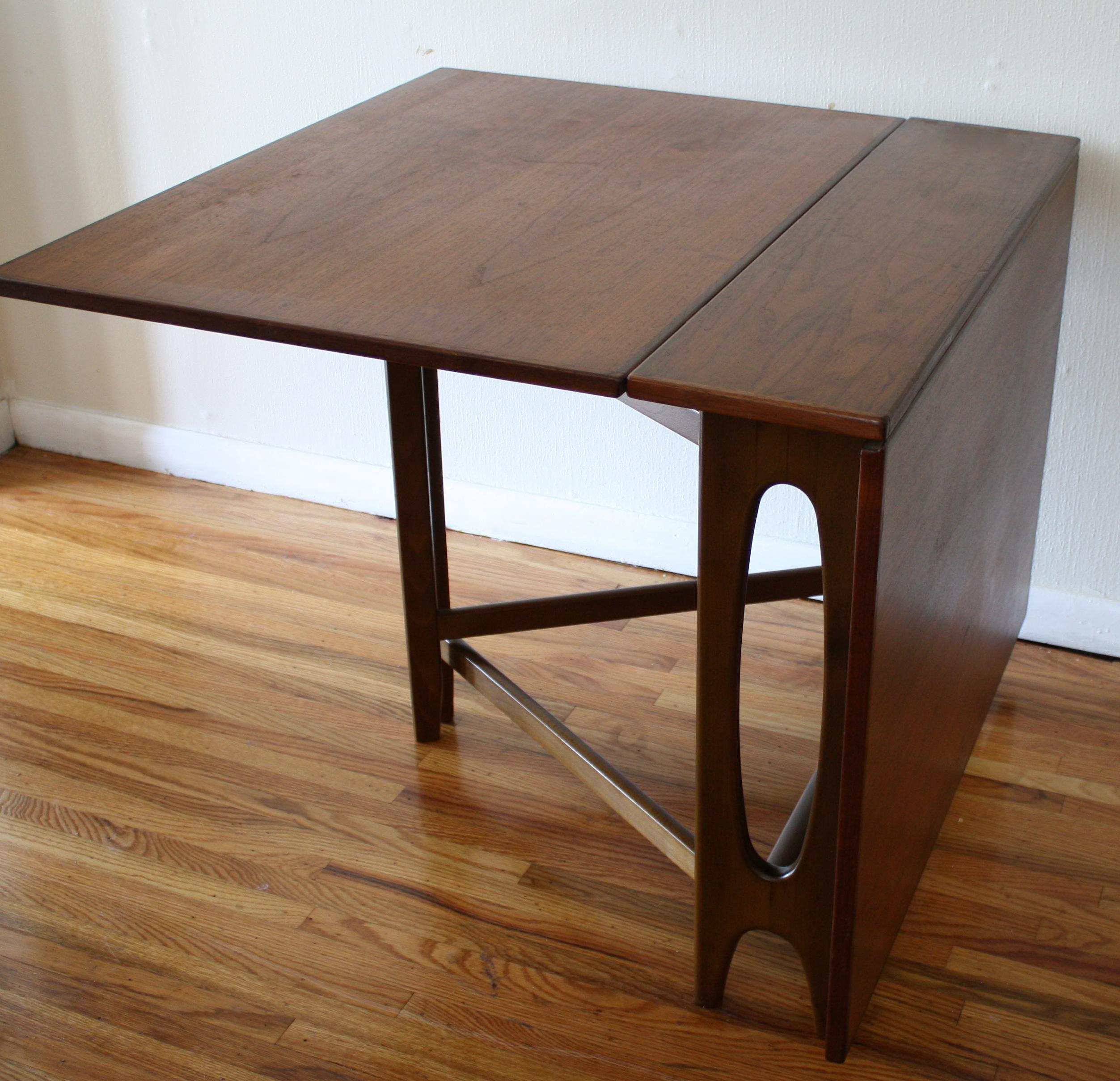 Danish Mid Century Modern Gateleg Dining Table Picked Vintage