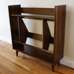 Mid Century Modern Danish Mini Bookcase Picked Vintage