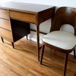Mid Century Modern Desk And Chair Picked Vintage
