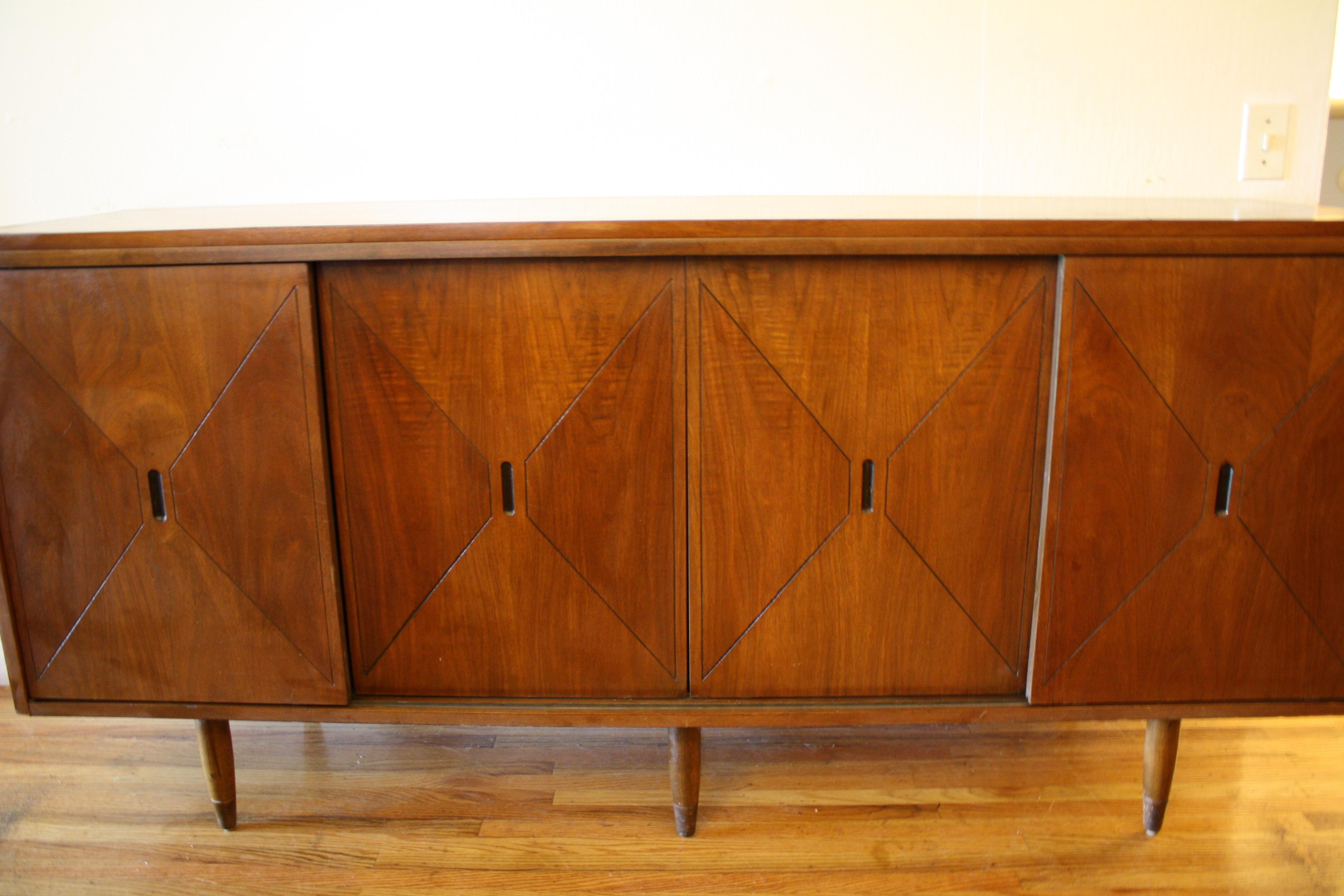 Mid Century Modern Credenzas Low Dressers Picked Vintage