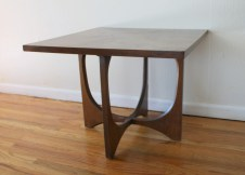 broyhill brasilia square table 1