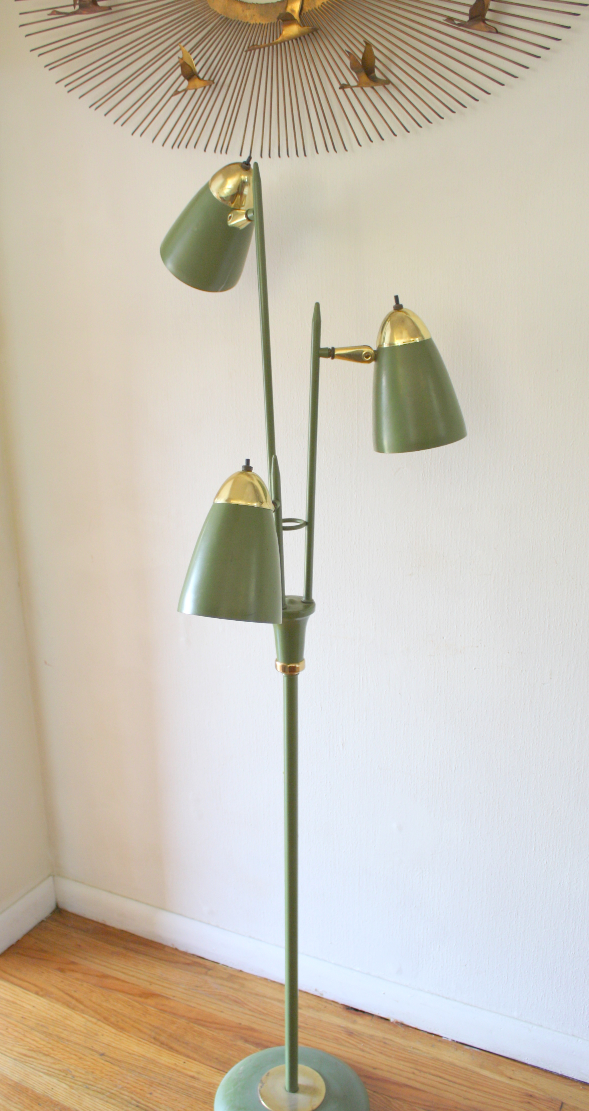 Mid Century Modern Bullet Floor Lamps Picked Vintage
