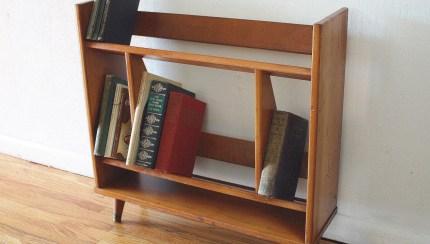Mid Century Modern Mini Danish Bookshelves Picked Vintage