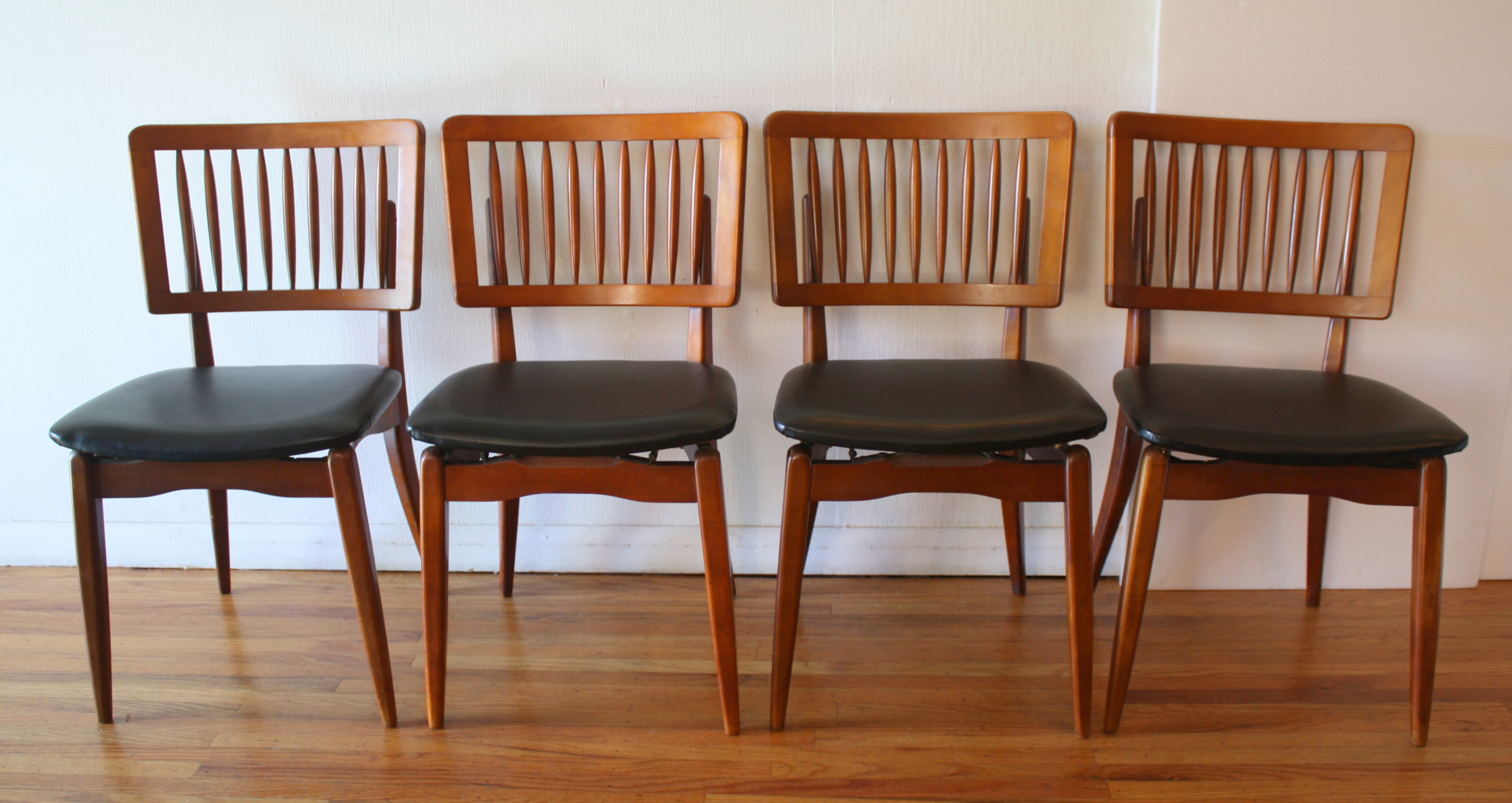 Mid Century Modern Dining Chair Set By Stakmore Picked