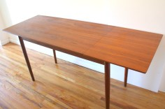 teak extension desk 5