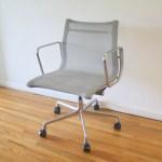 Mid Century Modern Eames Desk Chair Picked Vintage