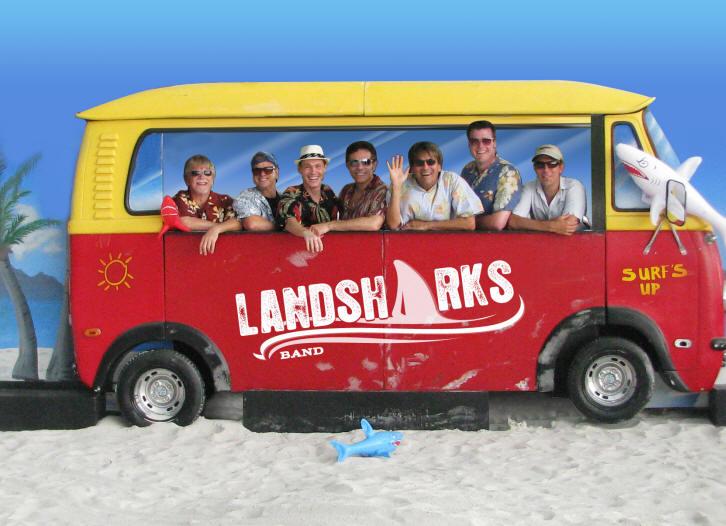 LandSharks_Band_In_Bus