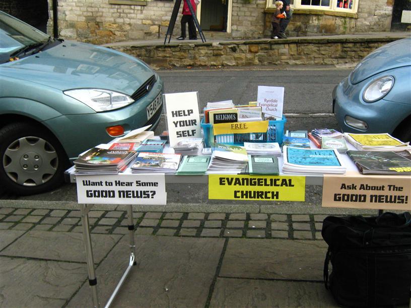 Evangelism Table