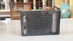 Toshiba Transistor Radio Cover Dirty