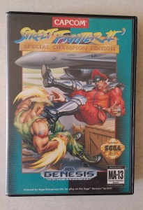 street fighter 2 box front