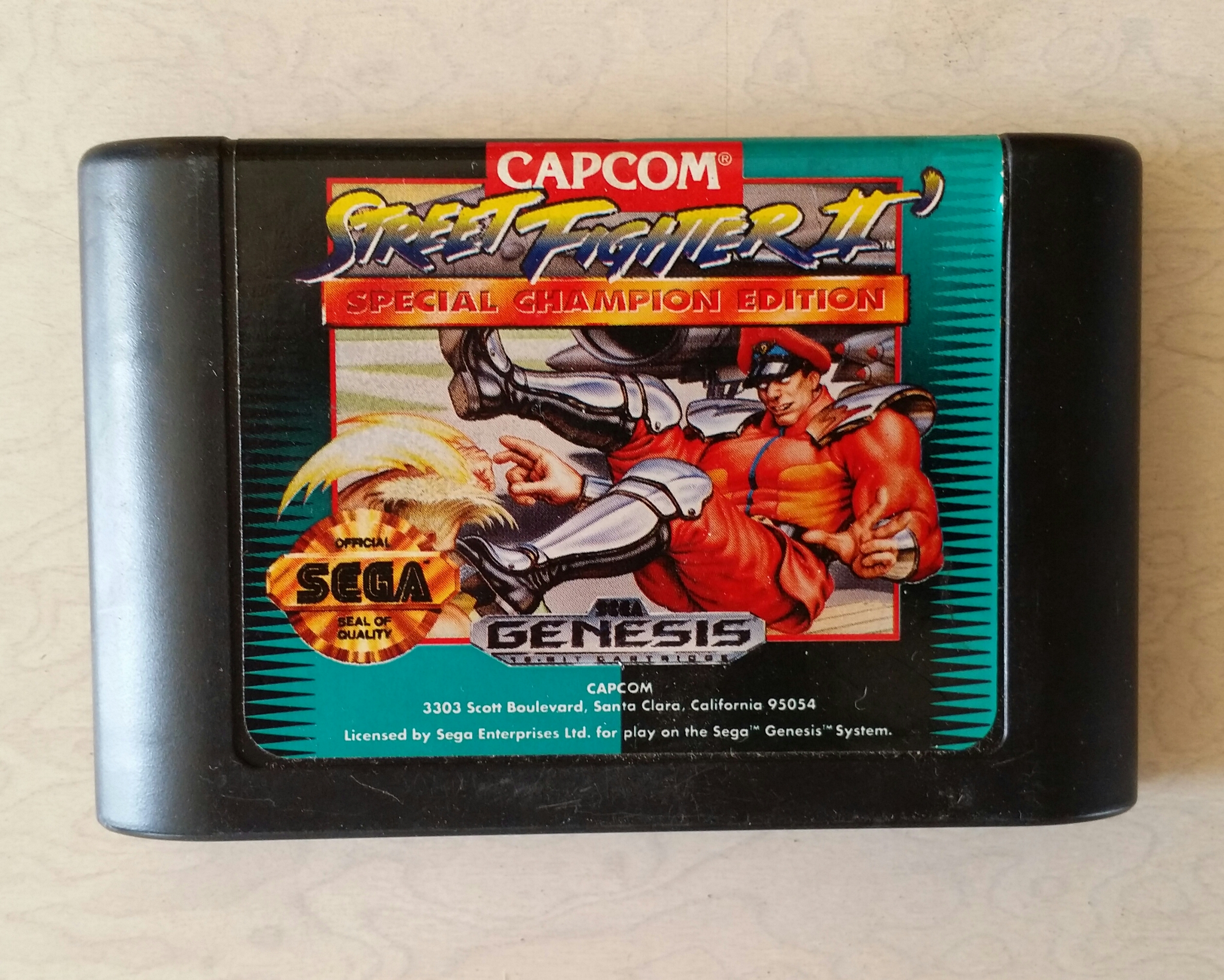 Street Fighter 2 Special Champion Edition Picker Junk