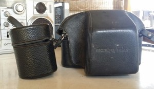 mamiya sekor camera leather case