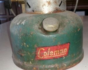 Coleman lantern low