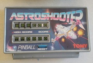tomy astro shooter upper part