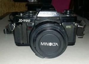 minolta x-700 with lens cap