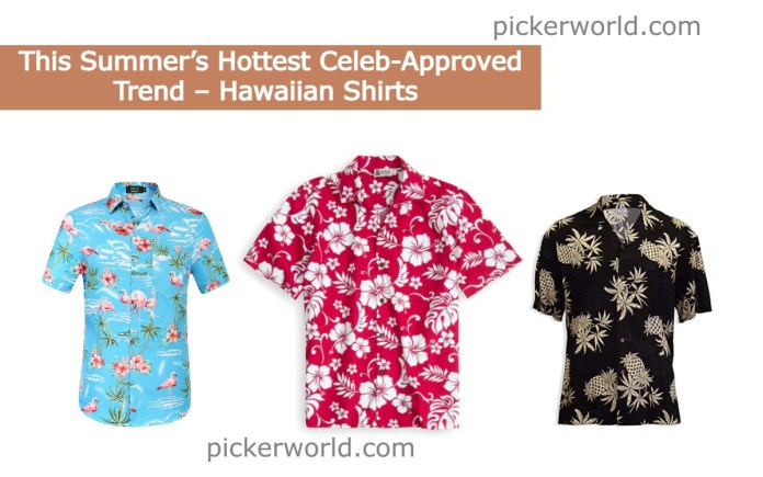 This Summer's Hottest Celeb-Approved Trend – Hawaiian Shirts