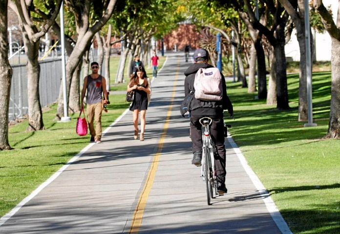 Riding Your Bike on Campus