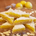 Lemon Bars with Almond Crust