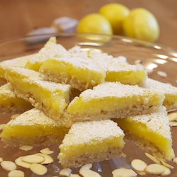 Lemon Bars with Almond Crust