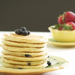 Fresh Blueberry Pancakes