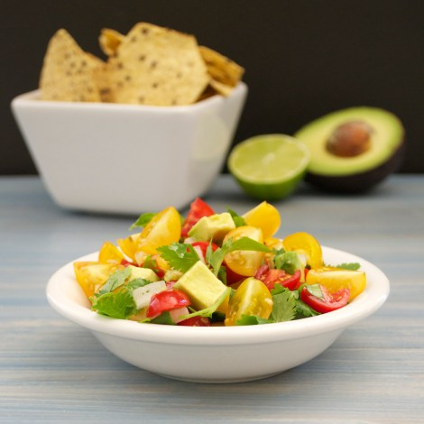 Cherry Tomato Avocado Salsa