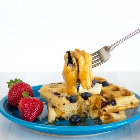 Blueberry Cheesecake Waffles-6