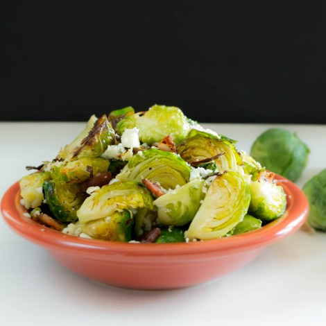 blue cheese brussels sprouts