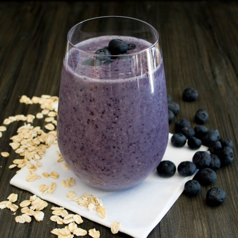 Blueberry Oatmeal Smoothie | Pick Fresh Foods