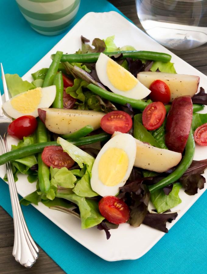 Vegetable Niçoise Salad