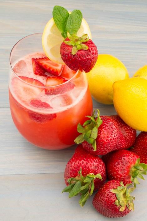 Strawberry Lemonade | Pick Fresh Foods