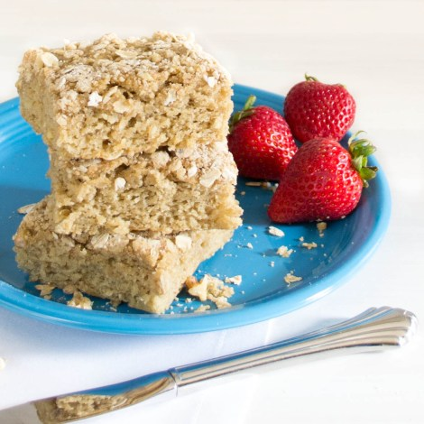 Banana Walnut Bars...the flavors of banana bread in a thick, soft bar! | Pick Fresh Foods