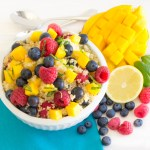 Quinoa Fruit Salad...Deliciously flavorful protein-packed salad bursting with fresh fruits | Pick Fresh Foods