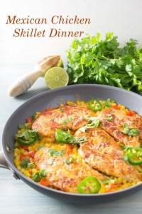 Mexican Chicken Skillet Dinner