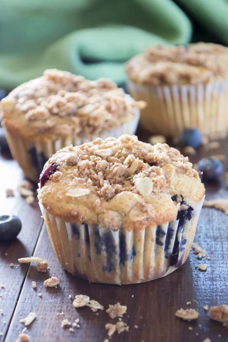 Healthy Blueberry Muffins | Pick Fresh Foods