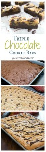 Triple Chocolate Cookie Collage