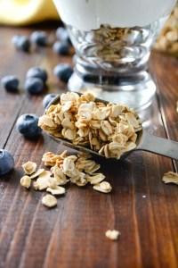 simply delicious granola