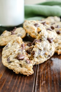 Oatmeal Chocolate Chip Cookies-6