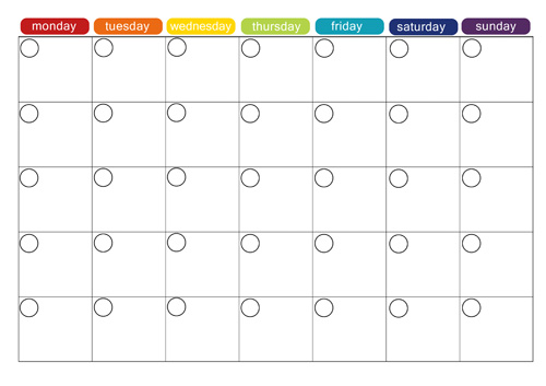 Lunch Calendar Template 7 best images of printable lunch menu – Lunch Menu Template