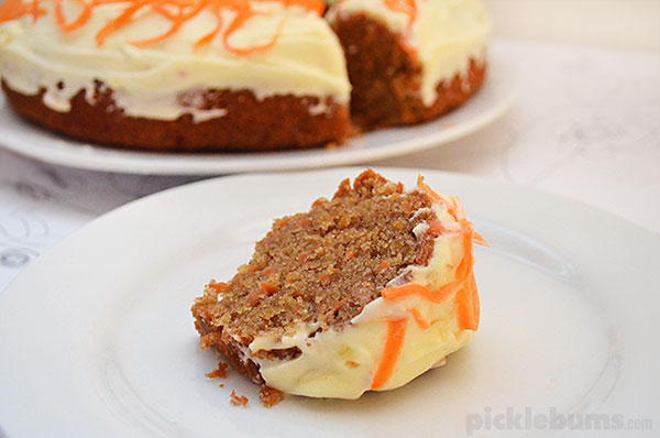 Easy Carrot Cake   Picklebums Easy Carrot Cake recipe