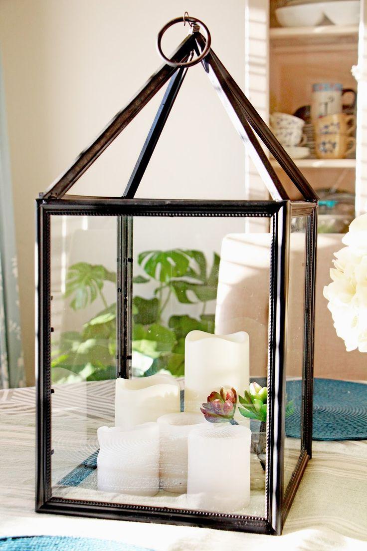 DIY Farmhouse Lanterns From Dollar Store Supplies