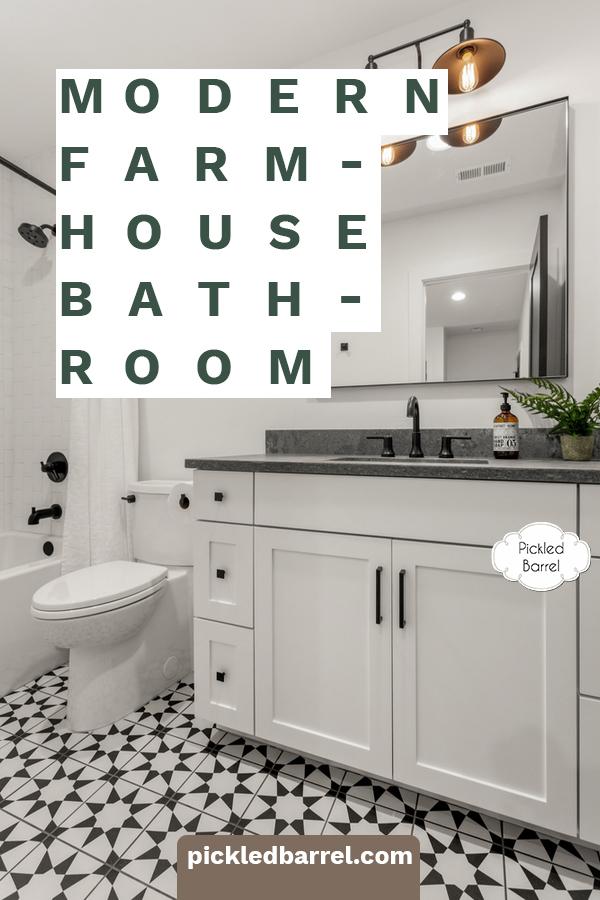 modern farmhouse bathroom ideas by