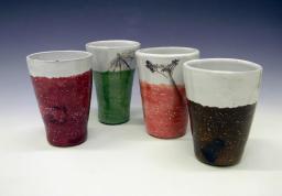 Class: Ceramics for Non-art Majors. Project: Contemporary Cup Sets