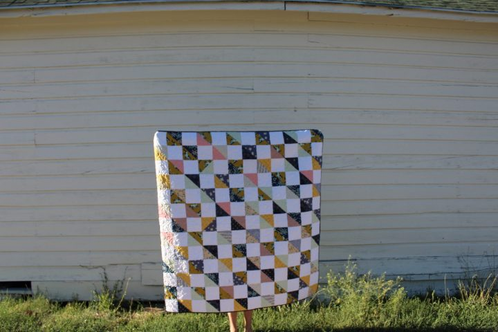 Brian and Jenni's Mustang Quilt
