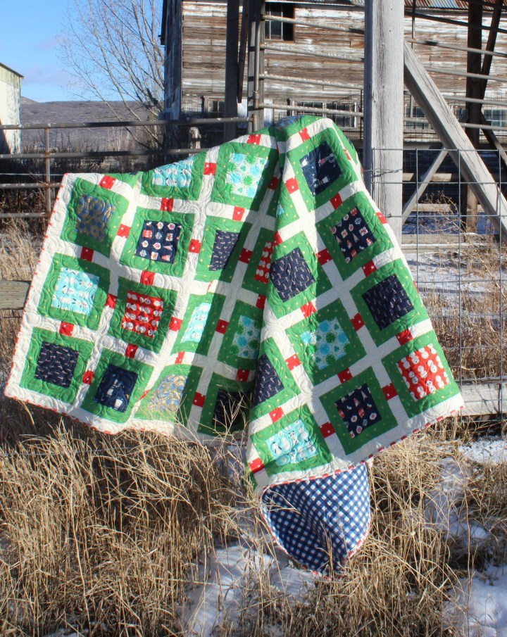 William's Christmas Quilt