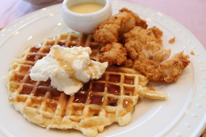 Chicken and Waffles, a Fun Family Meal